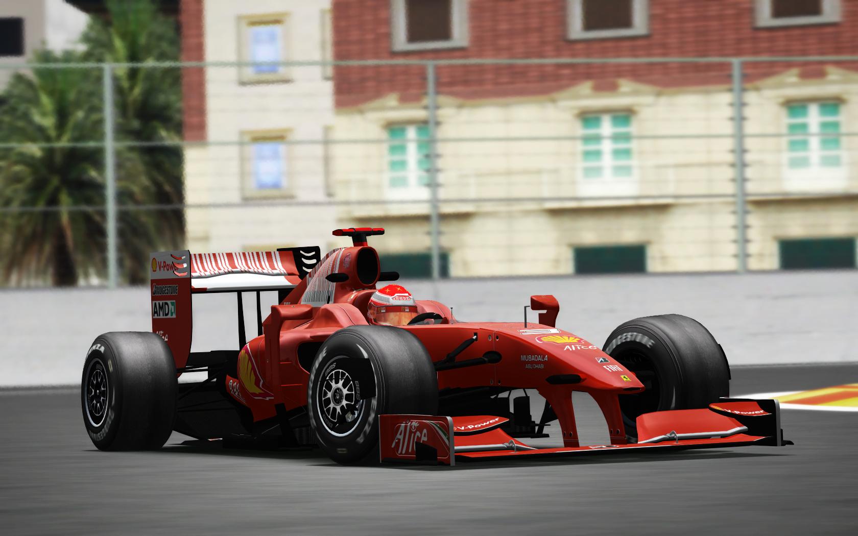more than just pixels: [rF] LMT F1 2009 Schumacher Valencia